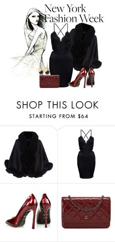 """""""NYFW"""" by darkangel1 ❤ liked on Polyvore featuring Harrods, Kim Kwang, Chanel, Marc by Marc Jacobs, women's clothing, women, female, woman, misses and juniors"""