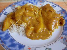 Hähnchenbrustfilets mit Ananas - Curry - Sauce, ein tolles Rezept aus der Kategorie Geflügel. Bewertungen: 10. Durchschnitt: Ø 4,4.