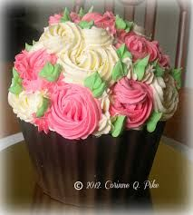Image result for giant cupcake