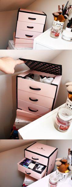 GlossyBox Drawer. DIY http://emmyannalinnea.blogg.se/