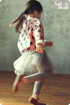 Ballerina Leggings (two colors) for girls aged 1-6 at Color Me WHIMSY.