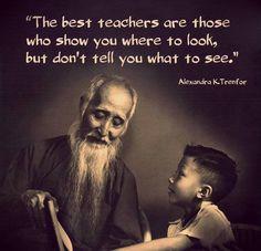 The best teachers are...