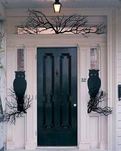 Decoração porta Halloween