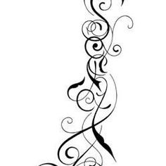 Hidden name tribal tattoo by on for Tattoos with hidden words