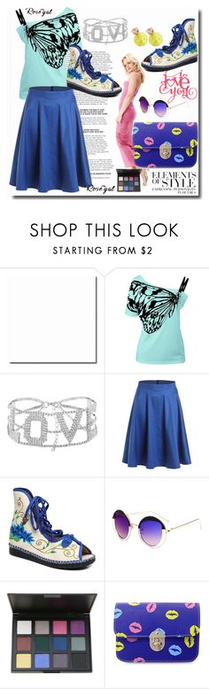 """""""Rosegal"""" by pesanjsp ❤ liked on Polyvore featuring Cricut and Vera Wang"""