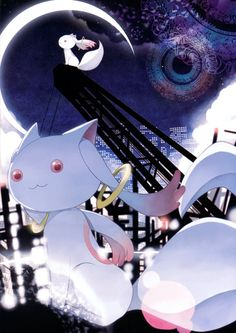 Mahou Shoujo Madoka Magica The Illustrated Book | Shaft / Kyuubey