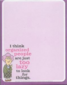 Auntie Acid Organized People Notepad