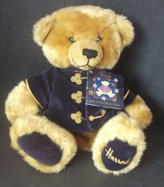 HARRODS LONDON - Collectors TEDDY BEAR Hand Puppet 108 | eBay
