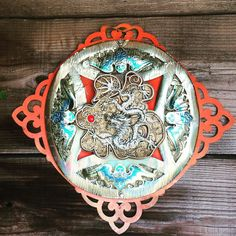 Saw this gorgeous piece of #art on my #walk today. #Dragon #Chinese? #Protectors? #Beauty