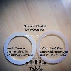 ซีล ซิลิโคน (ซีลยาง) silicone seal MOKA POT โมก้า พอท อลูมิเนียม ขนาด 6cup อะไหล่ o- ring seal Gasket Replacement Parts อะไหล่ หม้อต้ม กาแฟสด  - Silicone Seal for moka pot aluminium ขนาด6cups  - Silicone Seal for Bialetti moka express ขนาด6cups  - Silicone Seal for moka pot Pezzetti ขนาด6cups  - Silicone Seal for moka pot Ogni Ora ขนาด6cups  - Silicone Seal for moka pot Bialetti  brikka 4 cups