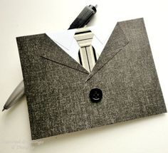 suit card for men or Father's Day
