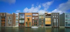 Borneo Sporenburg houses, Amsterdam