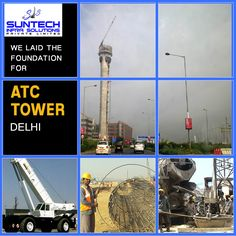 17 best pile foundation images on pinterest foundation foundation the atc in delhi being one of the tallest structures is at metres and it has the potential to handle 80 flights in an hour we laid the foundation for the solutioingenieria Image collections