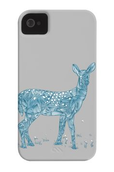 Deer and Dandelions Phone Case for iPhone 4/4s,5/5s/5c, iPod Touch, Galaxy S4