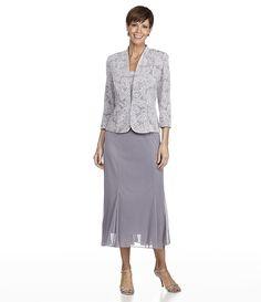 Dillard's Grandmother of Bride Dresses | Found on dillards.com. I really like…