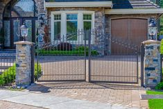 Cantilever Gates #homesecurityfence