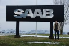 Big Saab Sign in Trollhättan