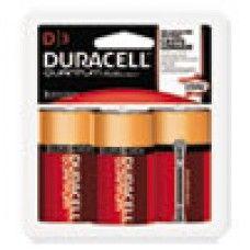 Batteries & Cells: Quantum Alkaline Batteries w/ Duralock Power Preserve Technology, D, 1.5V, 24/CT