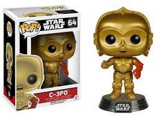 STAR  WARS EPISODE VII-POP FUNKO VINYL FIGURE 64 C-3PO