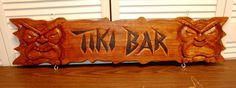 Tiki Bar Sign 2