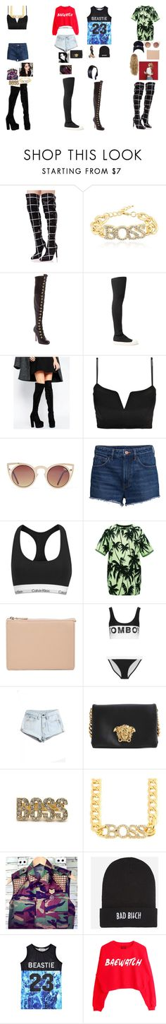 """""""Kendall, Dimond hyori and alley on weekly Idol"""" by royalsinthedark ❤ liked on Polyvore featuring Cape Robbin, Christian Louboutin, Rick Owens, Truffle, Boohoo, H&M, Calvin Klein, FAUSTO PUGLISI, ASOS and Filles à papa"""