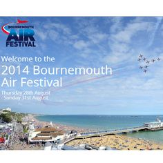 FREE Bournemouth Air Festival 28-31 August 2014 - Gratisfaction UK Freebies #freebies #freebiesuk #freestuff