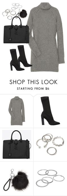 """""""Untitled#4570"""" by fashionnfacts ❤ liked on Polyvore featuring Michael Kors, Calvin Klein Collection, Yves Saint Laurent, Forever 21 and Apt. 9"""