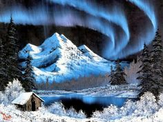 Northern Lights ~ Bob Ross