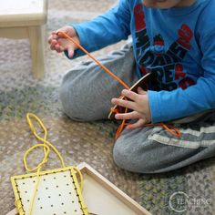 Exploring Shapes with Preschoolers: Recognizing shapes is one of the first steps in building math skills with preschoolers. As they explore shapes, they are understanding same and different. This is important because it will help them observe and compare everything that they see in their lives. *Great article for parents!