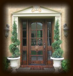 Country French Exterior Wood Front Entry Door Style DbyD 2002. Here We Have  A