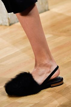 Tibi. From Tibi in New York to Vionnet in Paris, see all the furry feet walking the runway during fashion month.