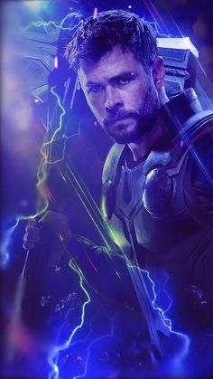 marvel thor Animated Video GIF created by Sherilynn Gould Avengers Infinity War Endgame Thor Hero Marvel, Marvel Art, Captain Marvel, Captain America, Marvel Films, Marvel Characters, Marvel Animation, Marvel Images, Mundo Marvel