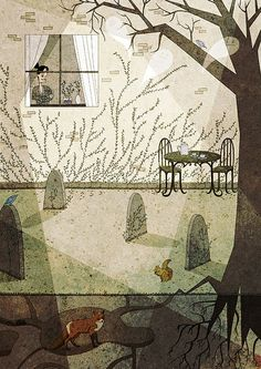 Illustration for Oh Comely Magazine by Josie Portillo, via Flickr