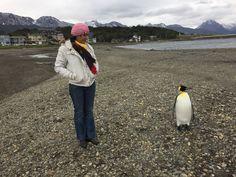 eu e o pinguim em Ushuaia