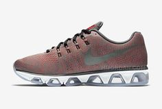 new style d3f65 81014 2016 Nike Air Max Tailwind 8 Print Sneakers Tumbled Grey Bright Crimson  White Reflect Silver Mens Running Shoes 806803-008