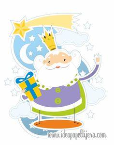 Graphic design, Draw, ilustración, rey mago, melchor