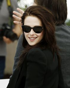 Who said she never smiles! Cannes 2012