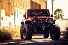 VWerks Red Jacket Jeep Pick-up Truck