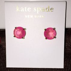Kate Spade ♠️Light Pink Earrings for @collsblondie ✨ NWTs Kate Spade ♠️ Light Pink Gumdrop Earrings for @collsblondie • Posts are made of Rhodium & are Nickel Free for sensitive ears • Includes dust bags • smoke free home • 20% donated to the American Cancer Society • IF INTERESTED LET ME KNOW & I WILL MAKE YOU A NEW LISTING AS I HAVE 2 • Thanks & Happy Poshing! ✨ kate spade Jewelry Earrings