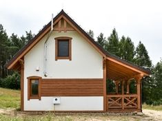 Dom drewniany LIBEREC I - Filian Domy Drewniane Shed, Outdoor Structures, Houses, Barns, Sheds