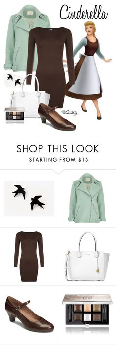 """""""Cinderella from """"Cinderella"""""""" by le-piano-argent ❤ liked on Polyvore featuring River Island, WearAll, Michael Kors, A2 by Aerosoles and Givenchy"""