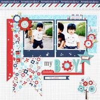 A Project by Yohko Takiguchi from our Scrapbooking Gallery originally submitted 04/04/13 at 07:43 PM