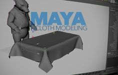Learn how to use Maya nCloth for modeling tasks such as window coverings, simple clothes, & tablecloths that will look more natural than traditional methods
