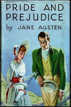 Pride and Prejudice by Jane Austen, W. Foulsham & Co., 1946 book cover