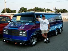 Van-Tastic: 15 Crazy Customized Vans - this is the kind of vehicle that I would have doodled in the margins when I was in grade school. Awesome!