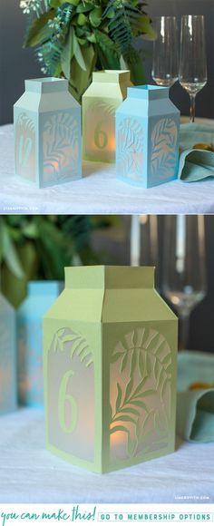 #DIYWedding #WeddingDecor #TableNumbers at www.LiaGriffith.com