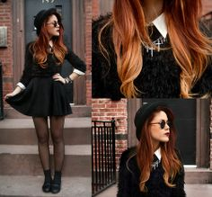 I'm not a huge fan of ombre hair, but I've seen it done right a few times and this is one of them!