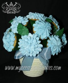 Cupcake bouquet by OccasionalCakes
