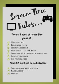 Before using the screen time rules weekends usually started off with my kids failing to listen or do anything they were asked because 'hello, zombie-mode!' Unplug from technology and social media with a digital detox for kids and family. Kids And Parenting, Parenting Hacks, Peaceful Parenting, Gentle Parenting, Parenting Humor, Detox For Kids, Kids Summer Schedule, Rules For Kids, Charts For Kids