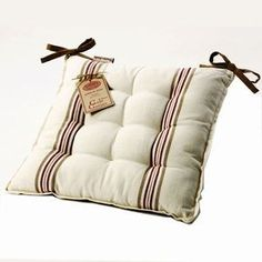 Check Out These Great Kitchen Chair Cushions With Ties The Bestsellers Are In Red There Striped Ones Patterned And